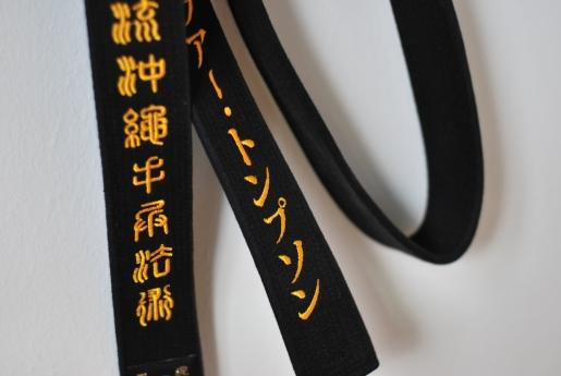 Koryu Uchinadi Black Belt