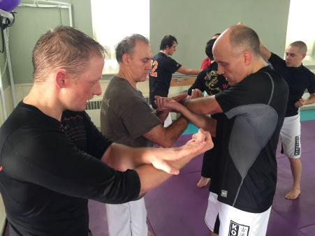 Sensei Cody Stewart Teaching