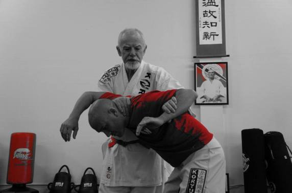 Sensei McCarthy Applies Eagle Seizes His Prey