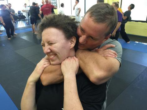 Mark Donohoe Applies Choke