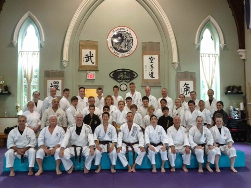 Sensei Paul Seminar-Group