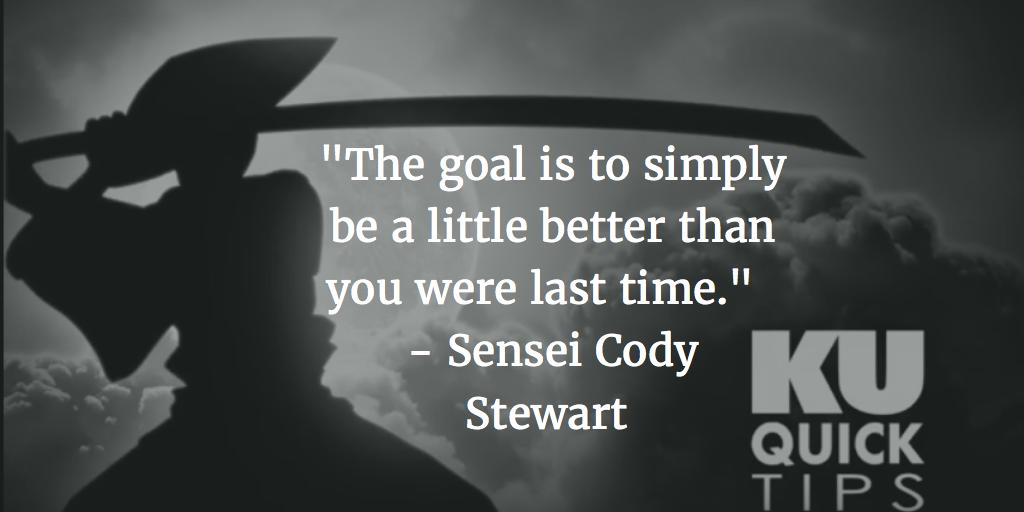 Sensei Cody Stewart