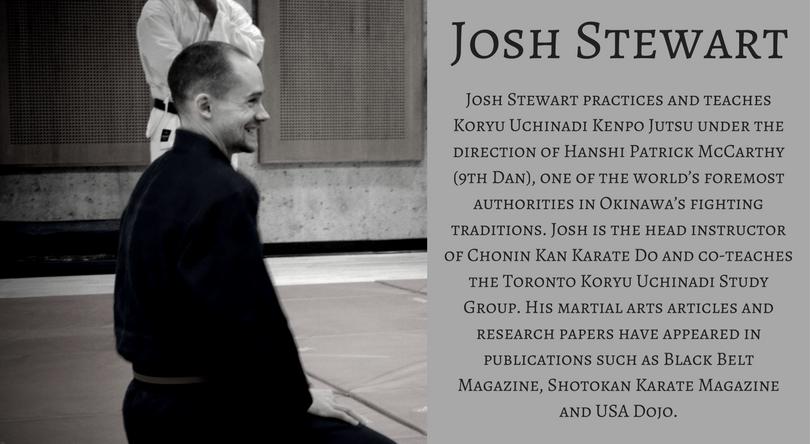 Author Bio Josh Stewart
